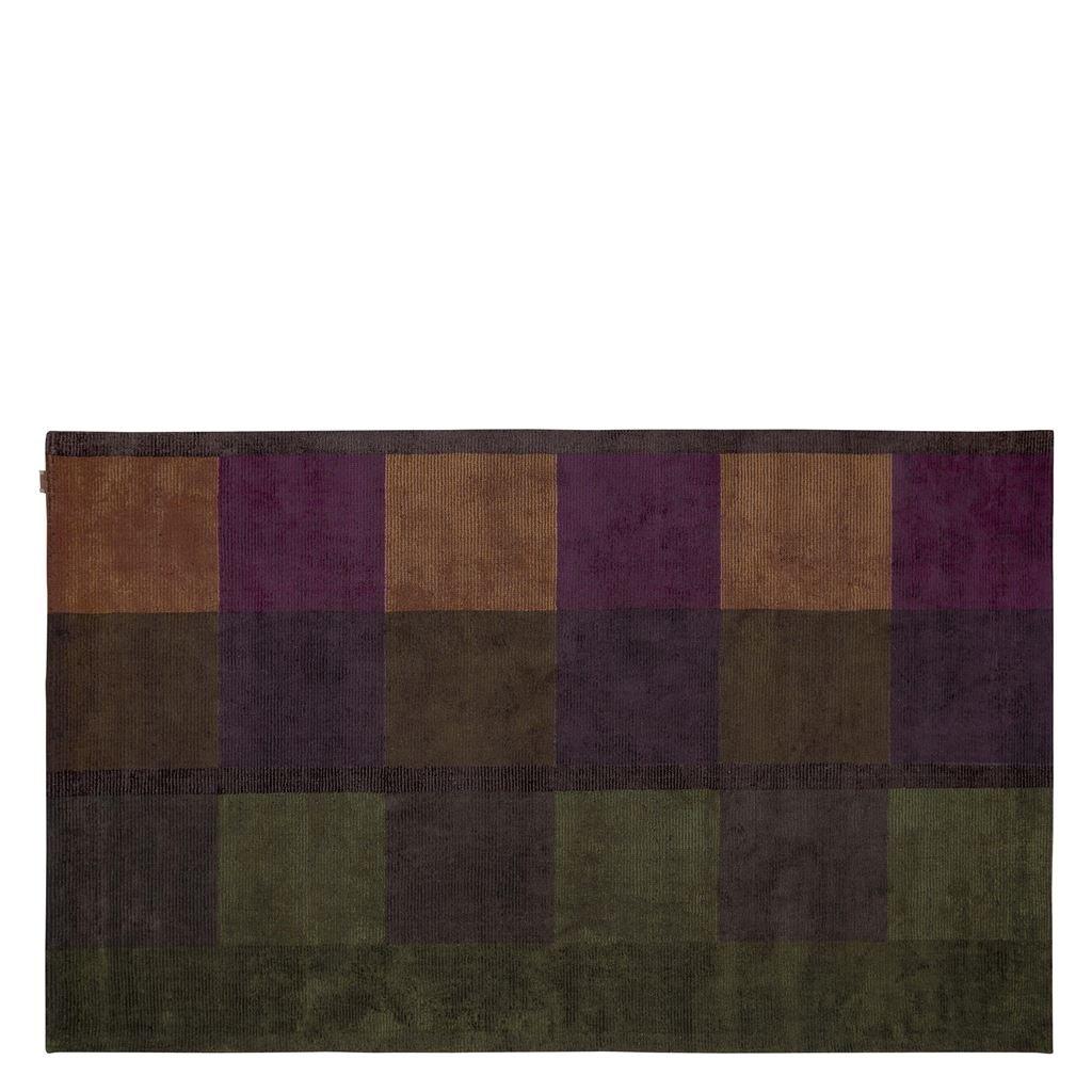 Designers Guild Handtuftad Matta SARANG CHOCOLATE Tre storlekar RUGDG0603-05 (Går att måttbeställa)