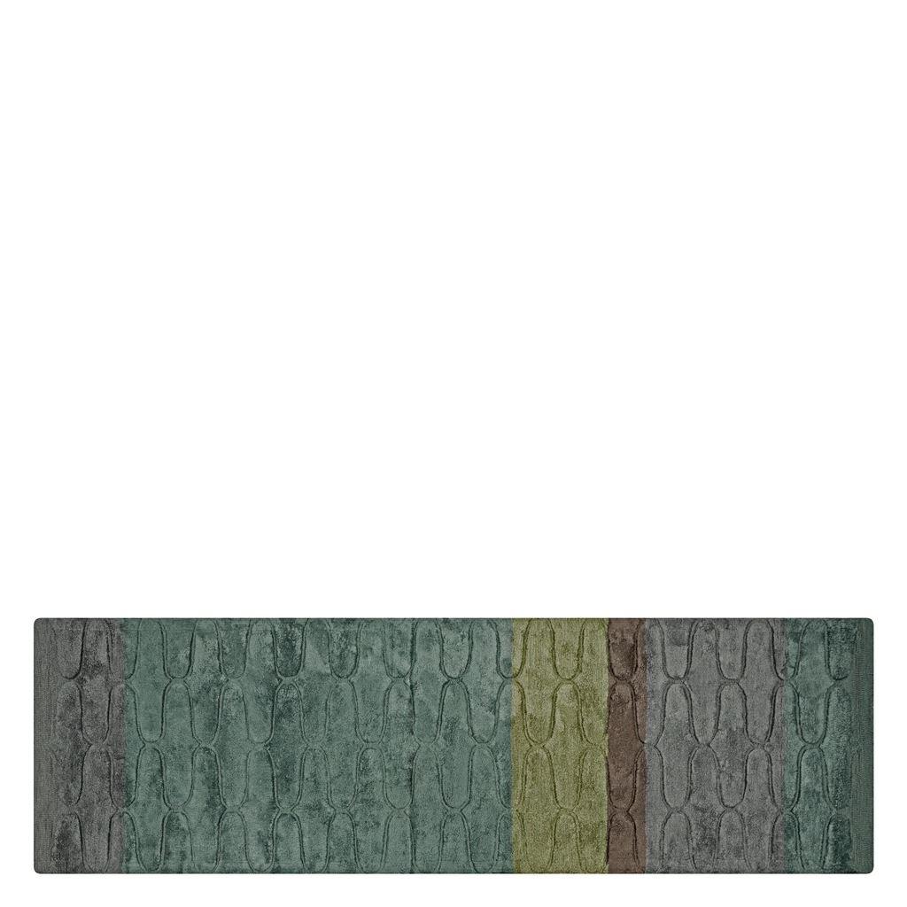 Designers Guild Handtuftad Matta OGEE OCEAN 75x250 cm RUGDG0627