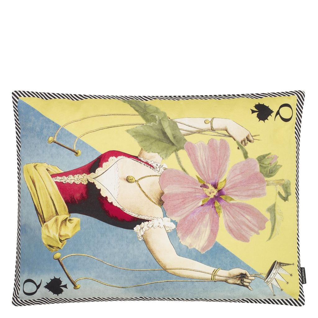 Christian Lacroix Kudde Madame Fleur Printemps Cushion 60 x 45cm CCCL0576