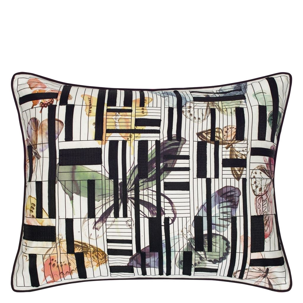 Christian Lacroix Kudde Lovely Escape Multicolore Cushion 60 x 45cm CCCL0574