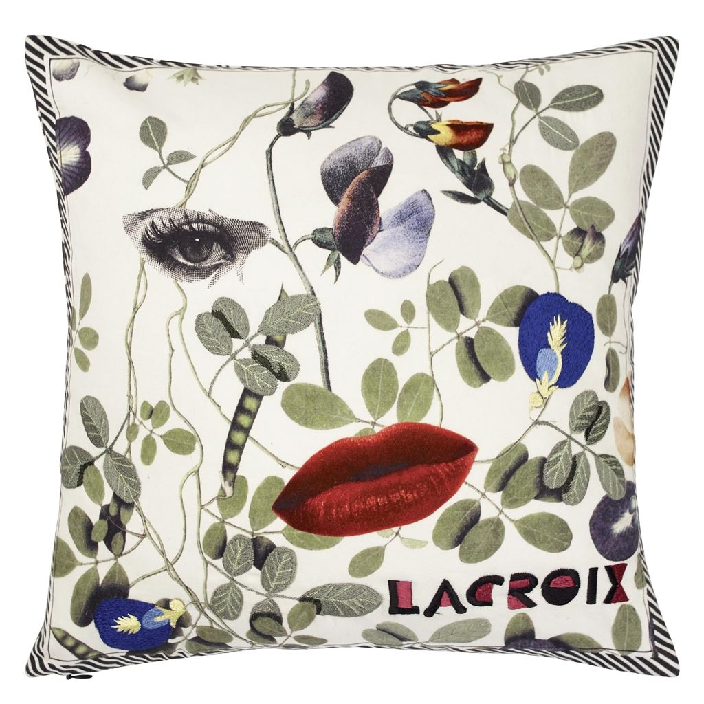 Christian Lacroix Kudde Dame Nature Printemps Cushion 40 x 40cm CCCL0572