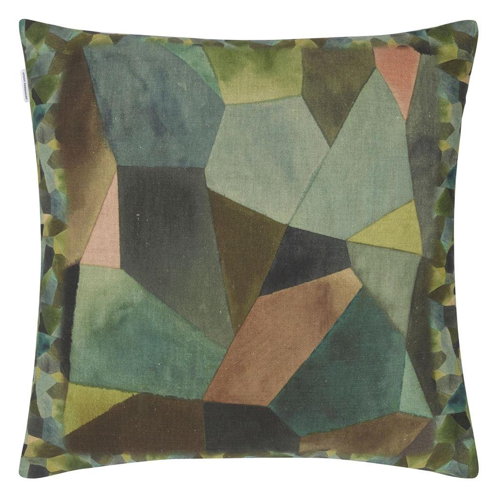 Designers Guild Kudde Geo Moderne Bronze Cushion 50 x 50cm CCDG0930