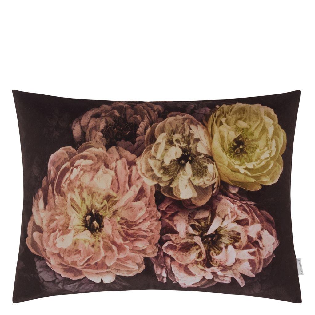 Designers Guild Kudde Le Poeme De Fleurs Rosewood Cushion 60 x 45cm CCDG0924