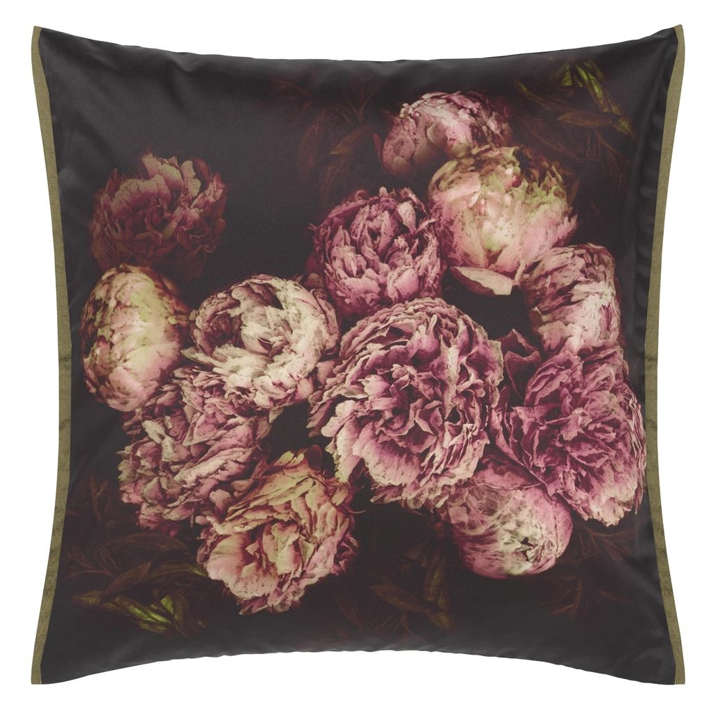 Designers Guild Kudde Vespertina Sepia Cushion 50 x 50cm CCDG0919