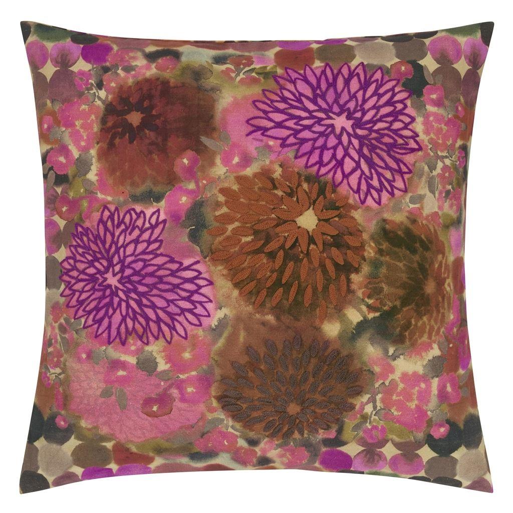 Designers Guild Kudde Japonaiserie Saffron Cushion 50 x 50cm CCDG0916