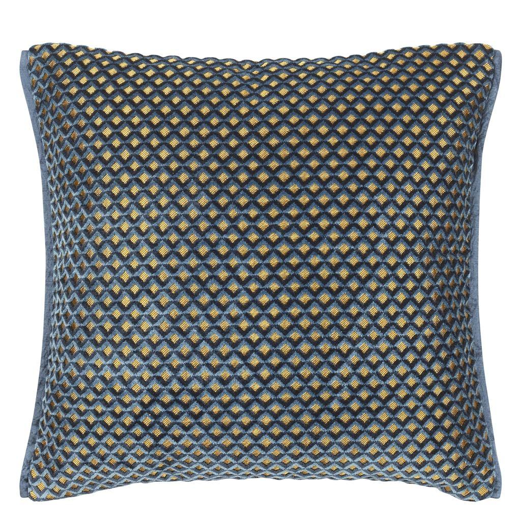 Designers Guild Kudde Portland Delft Cushion 43 x 43cm CCDG0954