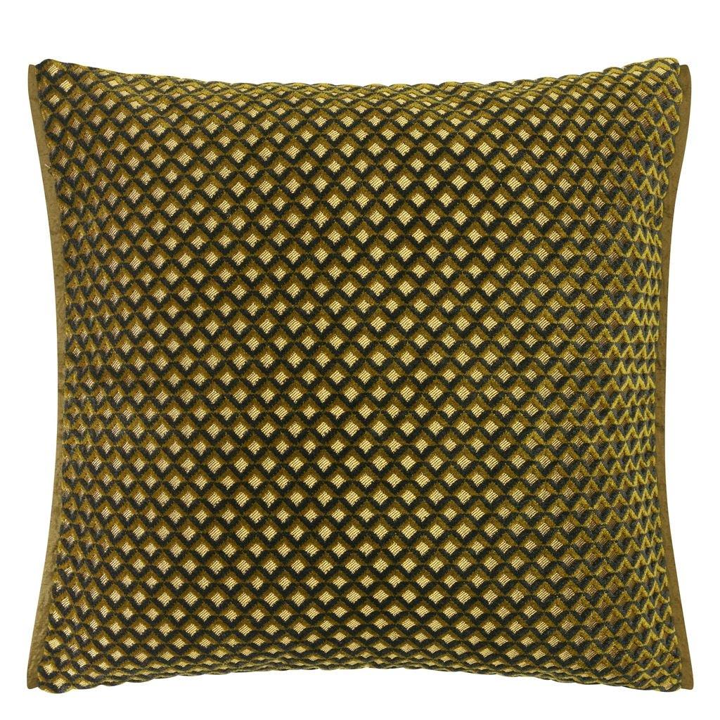Designers Guild Kudde Portland Ochre Cushion 43 x 43cm CCDG0955