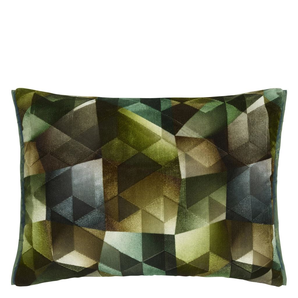 Designers Guild Kudde Maurier Emerald Cushion 60 x 45cm CCDG0951