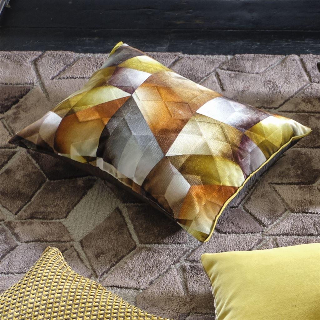 Designers Guild Kudde Maurier Ochre Cushion 60 x 45cm CCDG0952