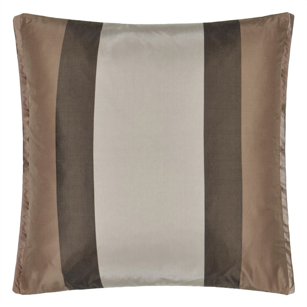Varanasi Taupe Cushion CCDG1038