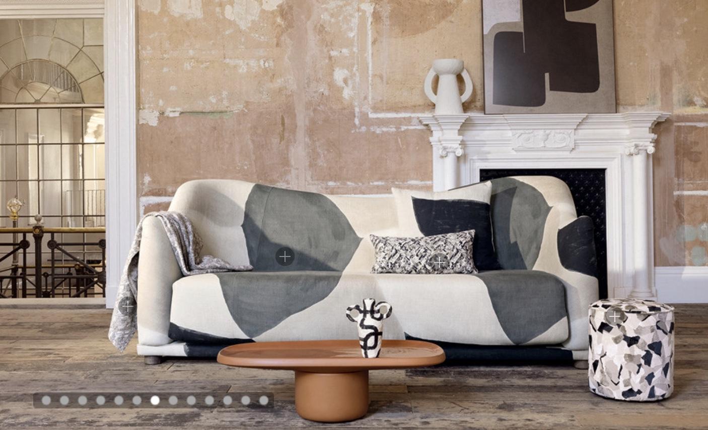 Kirkbydesign Tygkollektion Burst Decorative Weaves and Prints