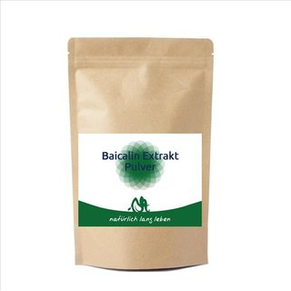 Baicalin 85%, 50g pulver - 50 gram
