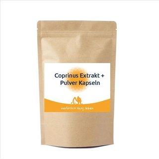Coprinus comatus, 60 kapslar - 60 kapslar