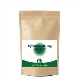 Hyaluronsyra (vegan) 400mg, 60 kapslar - 60 kapslar