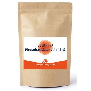 Fosfatidylkolin 45% (solroslecitin)