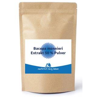 Bacopa monnieri 50%, 100g - 100 gram