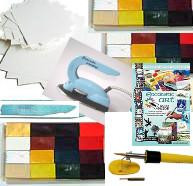 Nytt innehåll! Encaustic Art - Startpaket Färgdrömmarens Midiset (Beställningsvara)