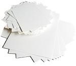 Encaustic Art - Målarkort A6 Vit 100-pack (300g)