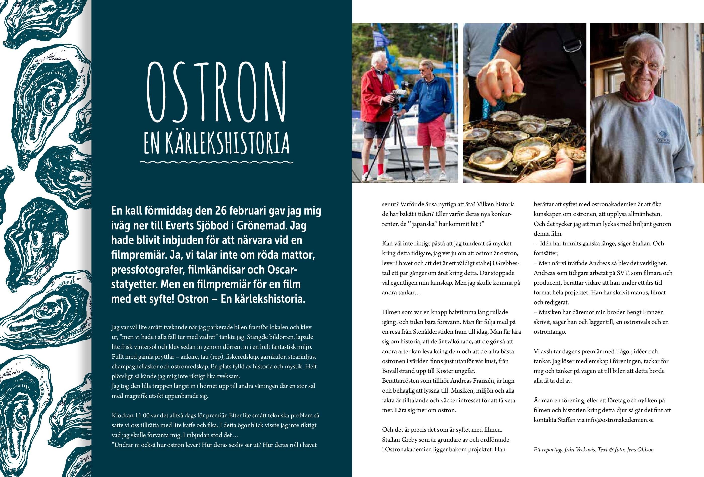 Svenska ostron i varldsklass