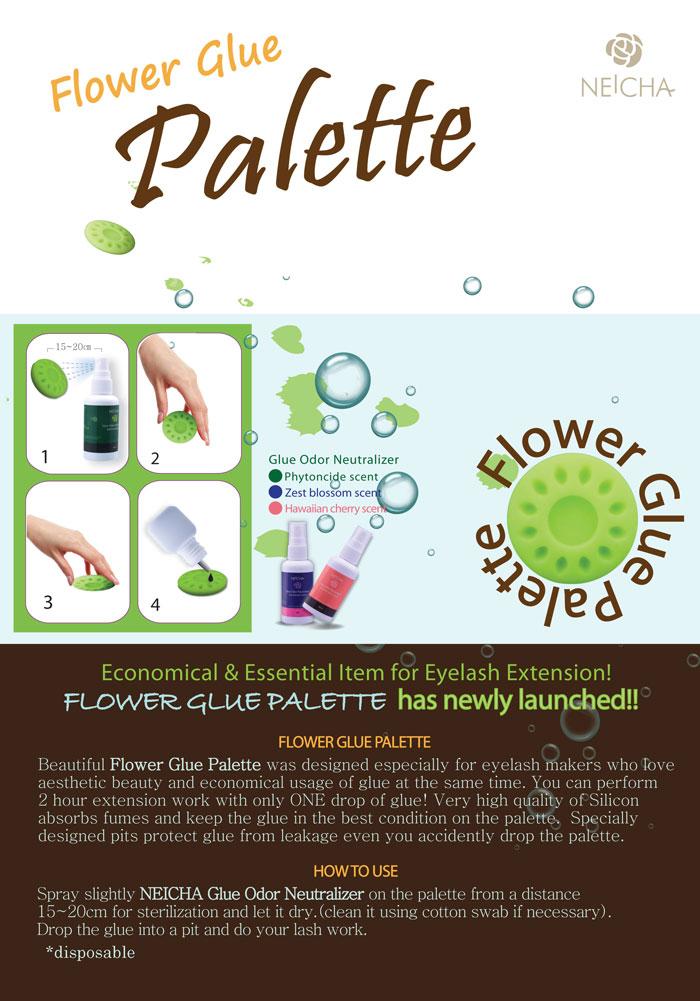 Flower Glue Palette