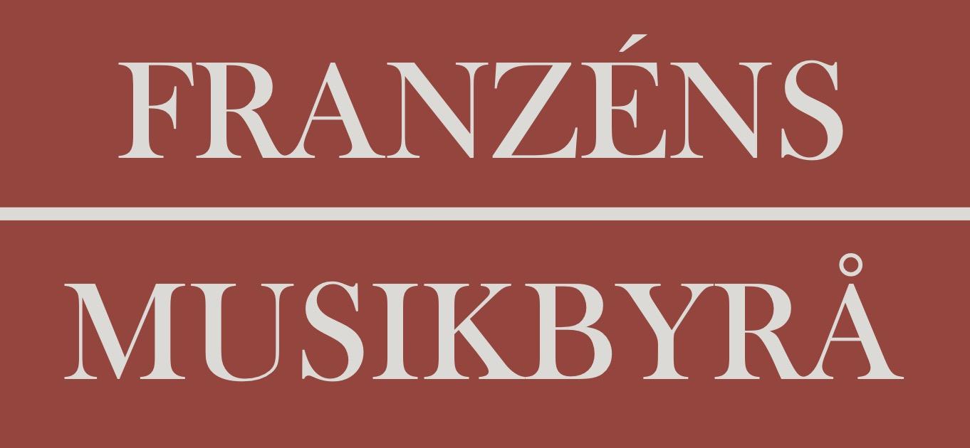 Logga Franzéns Musikbyrå (kopia)