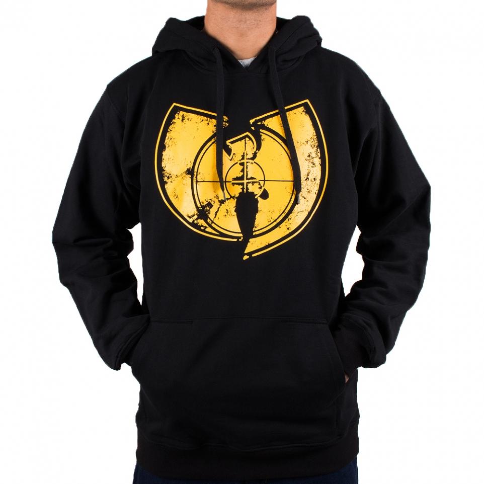 Wu-Wear Wu-Tang Clan Target Hoodie - black