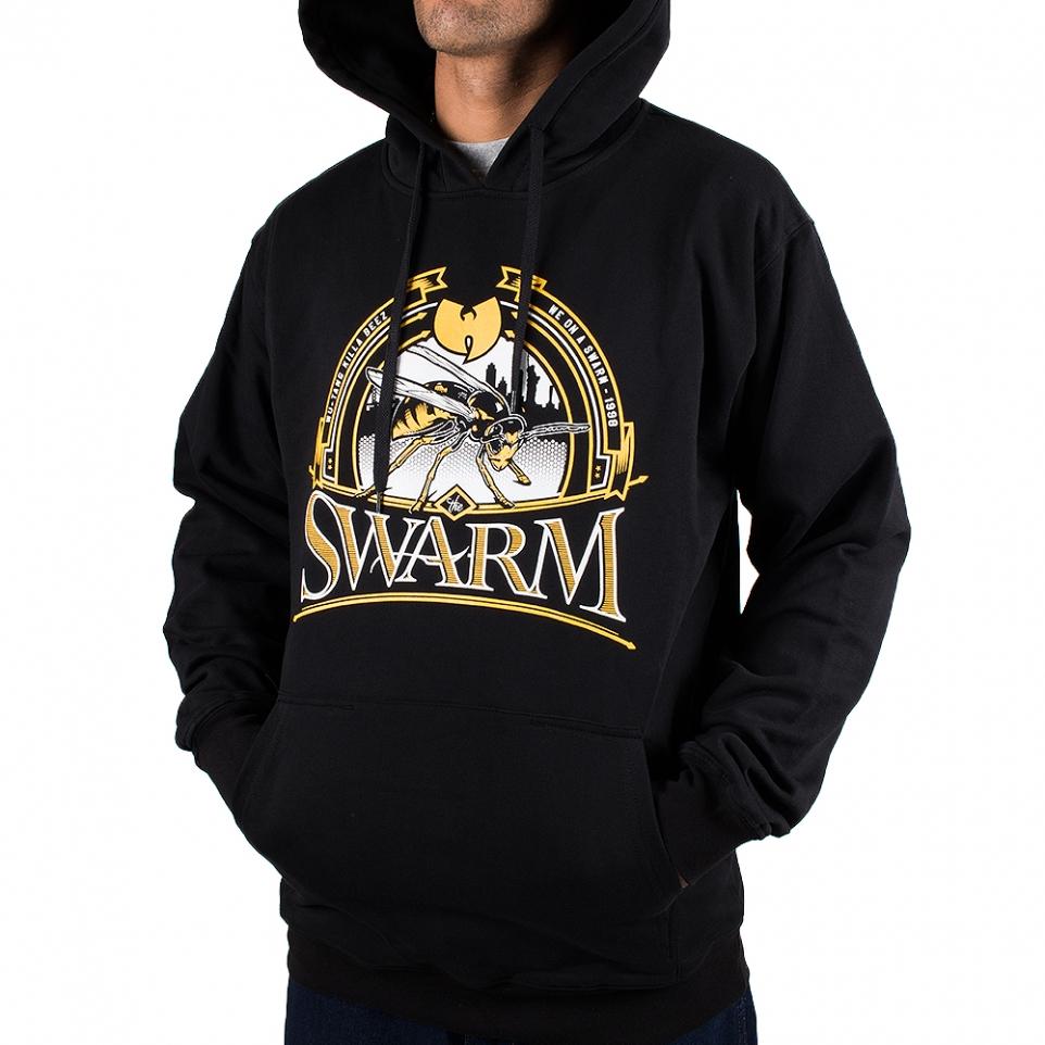 Wu-Wear Wu-Tang Clan NY Killa Bee Hoodie - black