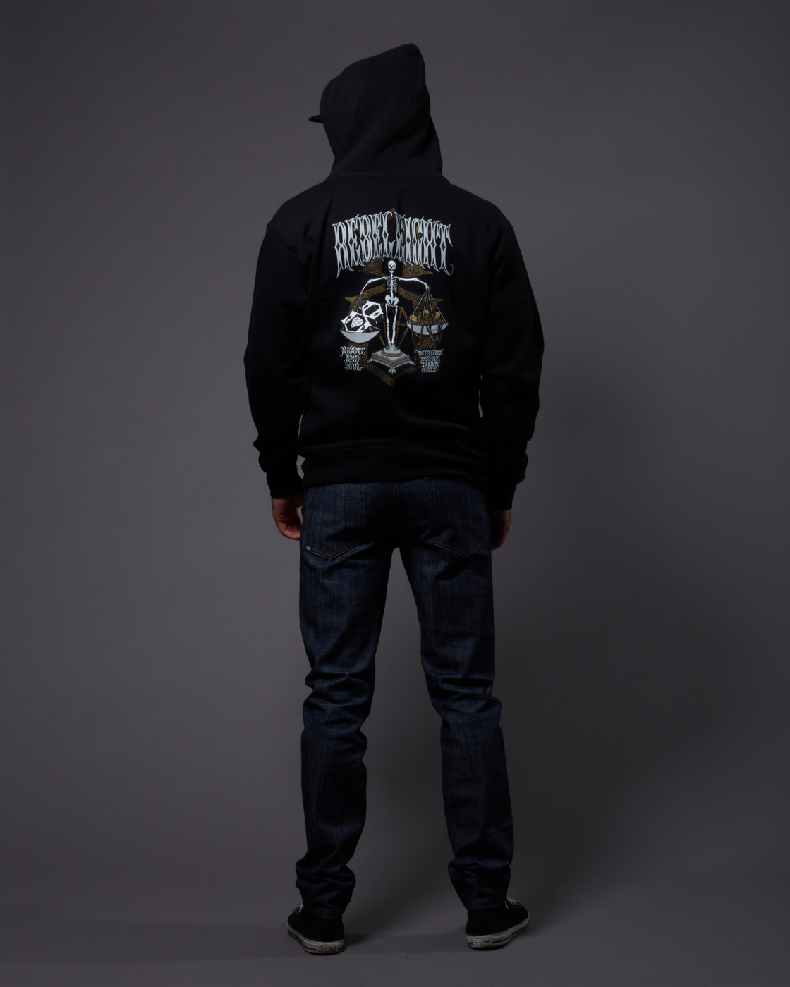 Rebel 8 Heart And Soul Zip Hoodie