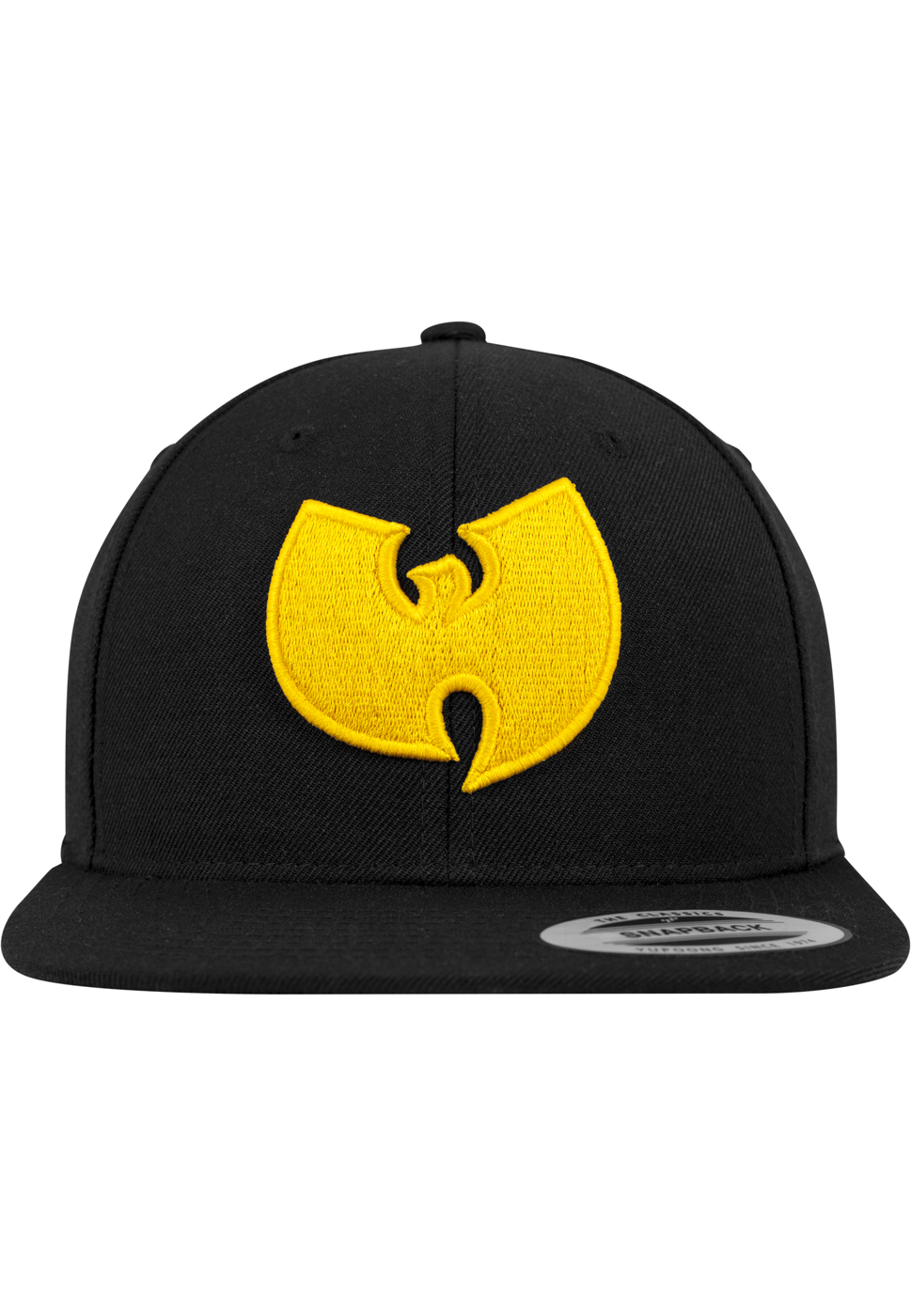 Wu-Wear Logo Snapback Cap - black/yellow
