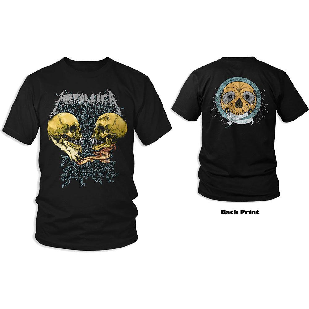 METALLICA: Sad But True (Back Print) Unisex T-shirt