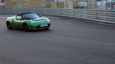 Bild från förra årets eLeMans elbilstävling