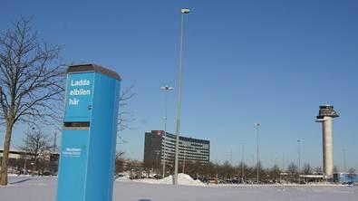Arlanda Airport Sveriges elbilsvänligaste flygplats