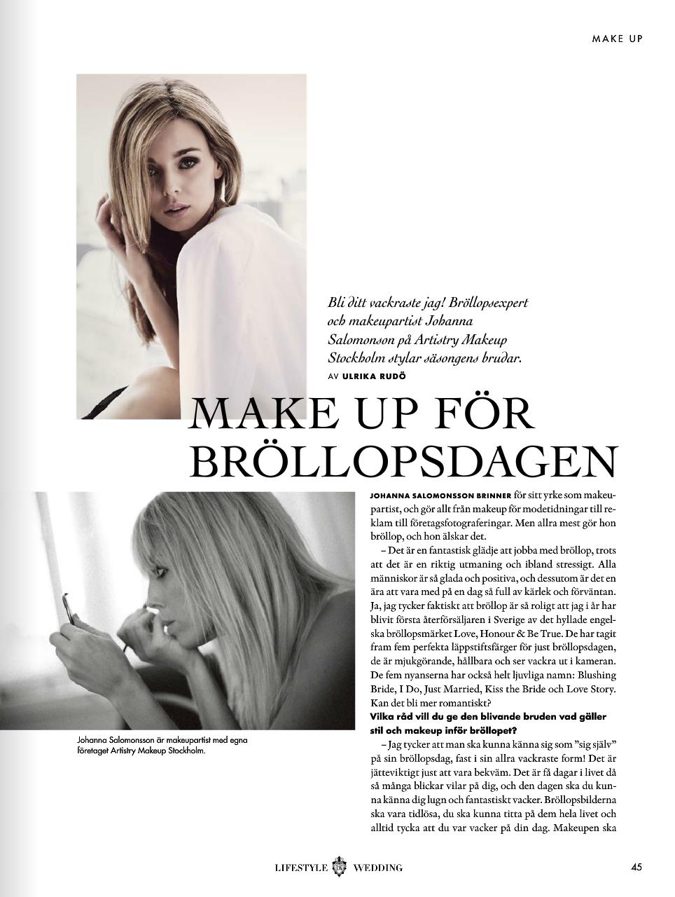 make up stockholm
