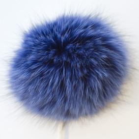 Blå - Blå tofs