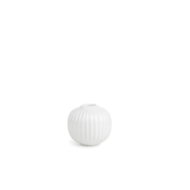 hammershöi ljusstake vit mellan