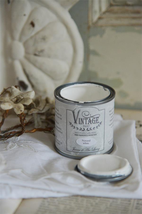 jdl - vintage färg natural white