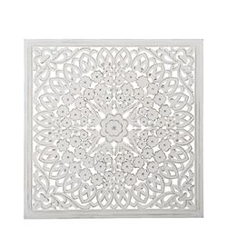 Carve Tempeltavla, vit (90x90)