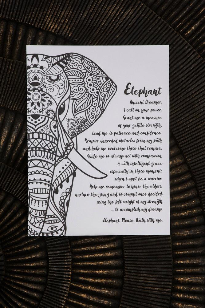 maja print elephant