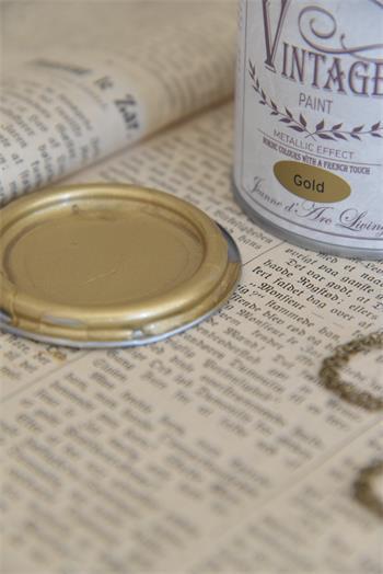 vintage paint gold