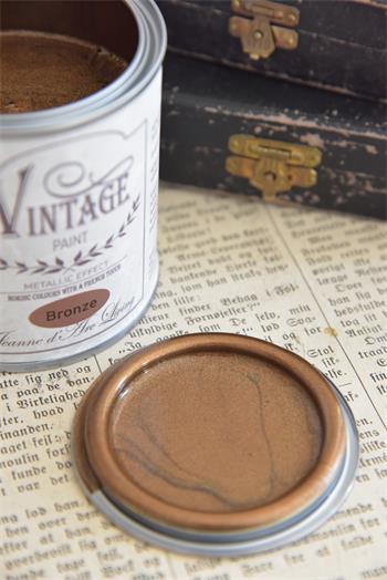 vintage paint brons metall