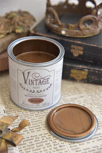 vintage paint brons
