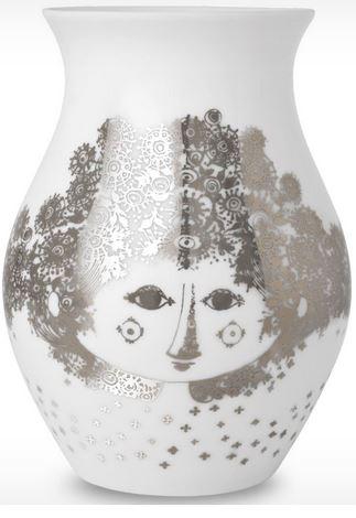 björn wiinblad vas silver