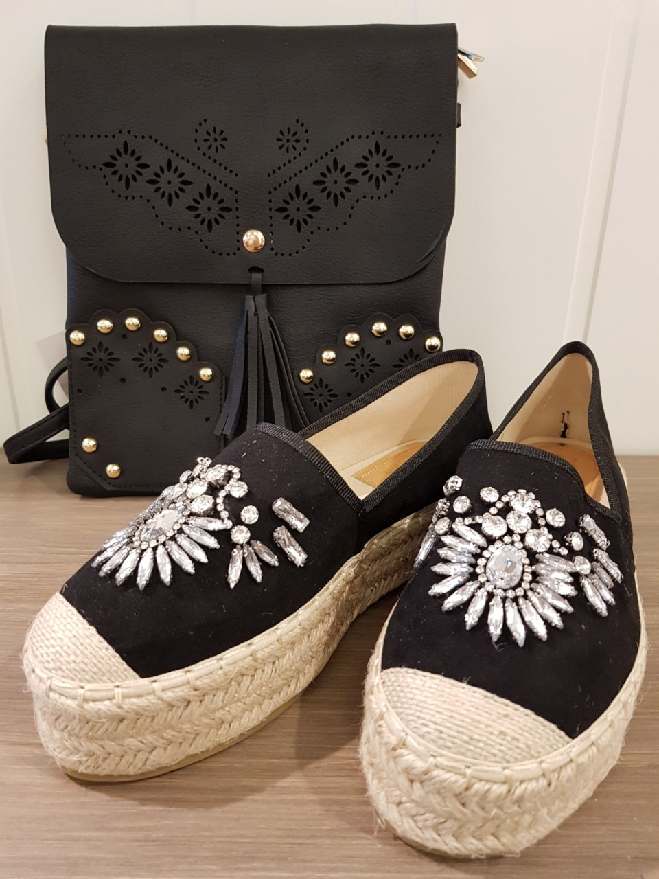gemini sko svart