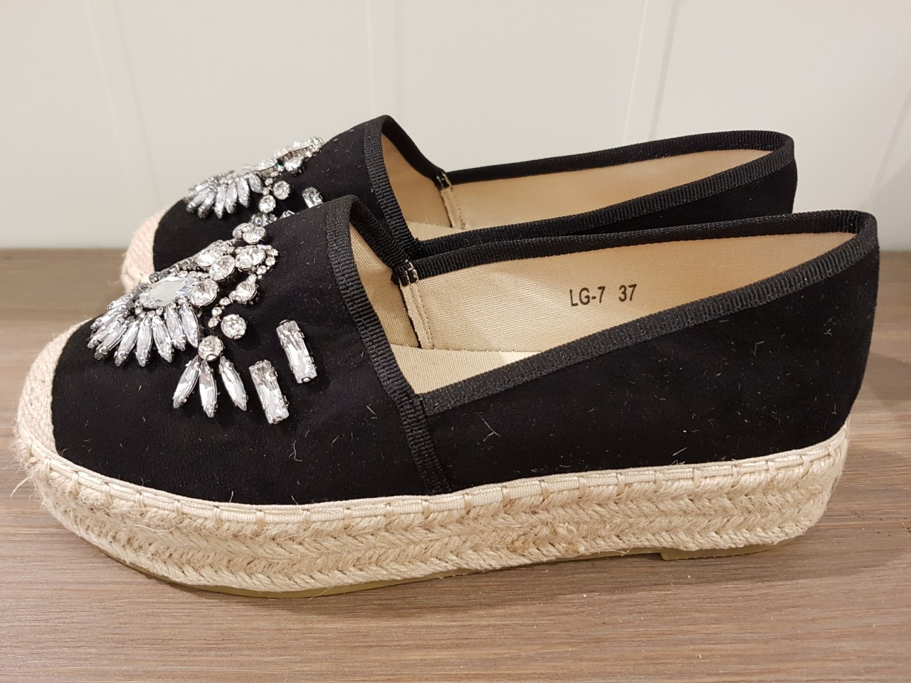 sko gemini svart