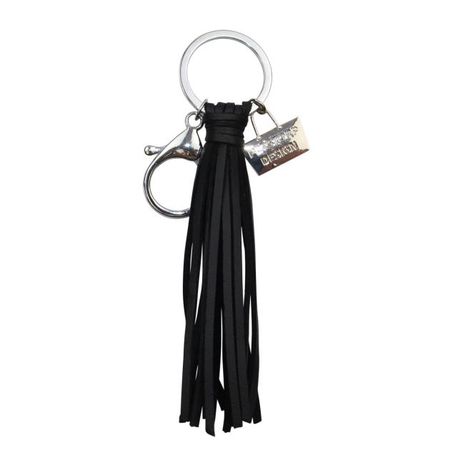 perstorp nyckelring svart tassel