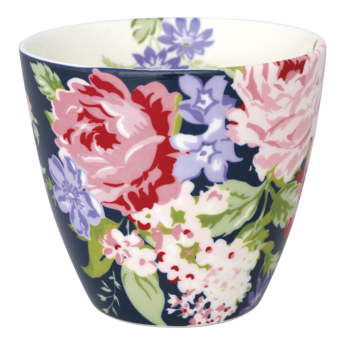 GreenGate Lattemugg Rose dark blue