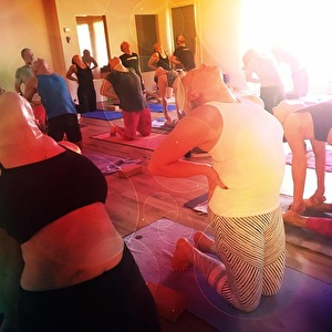 Yoga för nybörjare och för dig som vill repetera grunderna i Halmstad på Yogainstitutet i Halmstad. Start 15jan 2018
