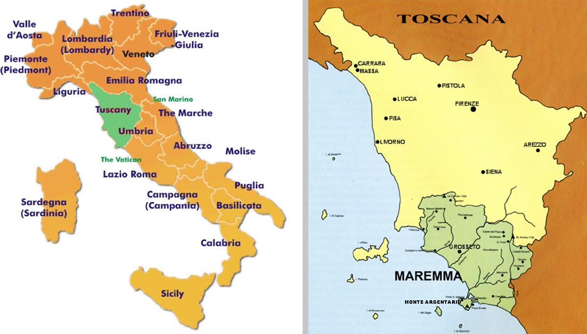 Toscana Europas Orkideer