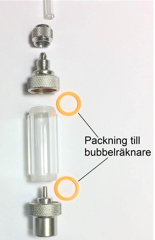 packning bubbelräknare