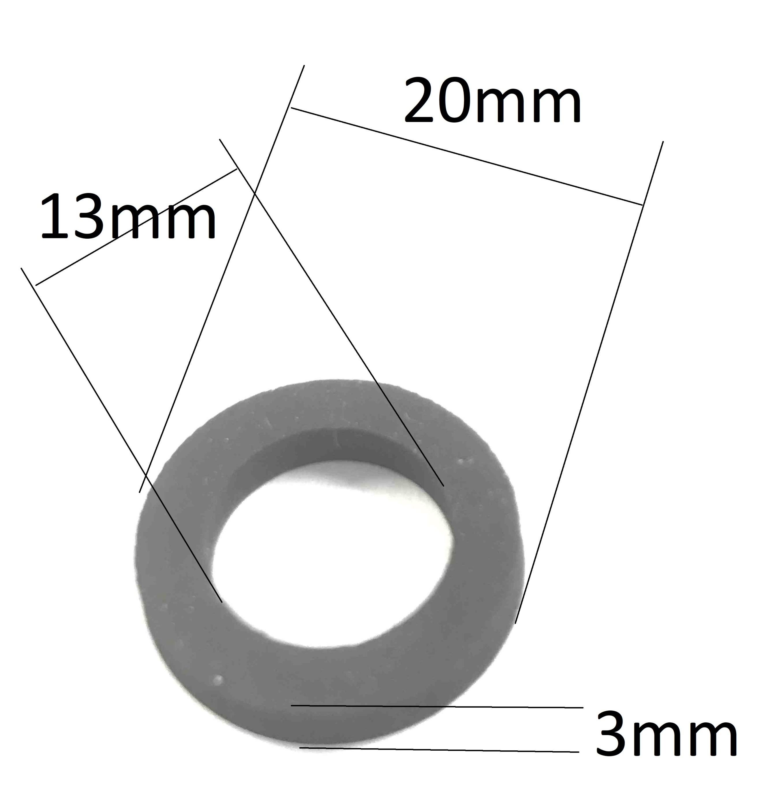 Packning t adapter